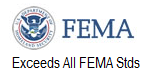 Exceeds FEMA standards1 Lifesaver Storm Shelters of North Alabama