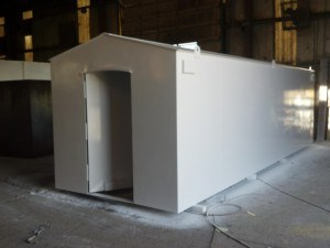 169223 450789384931795 1767496564 o1 300x225 New 3x5 Tornado Safe Room for Compact / Small Garages Installed from $3795