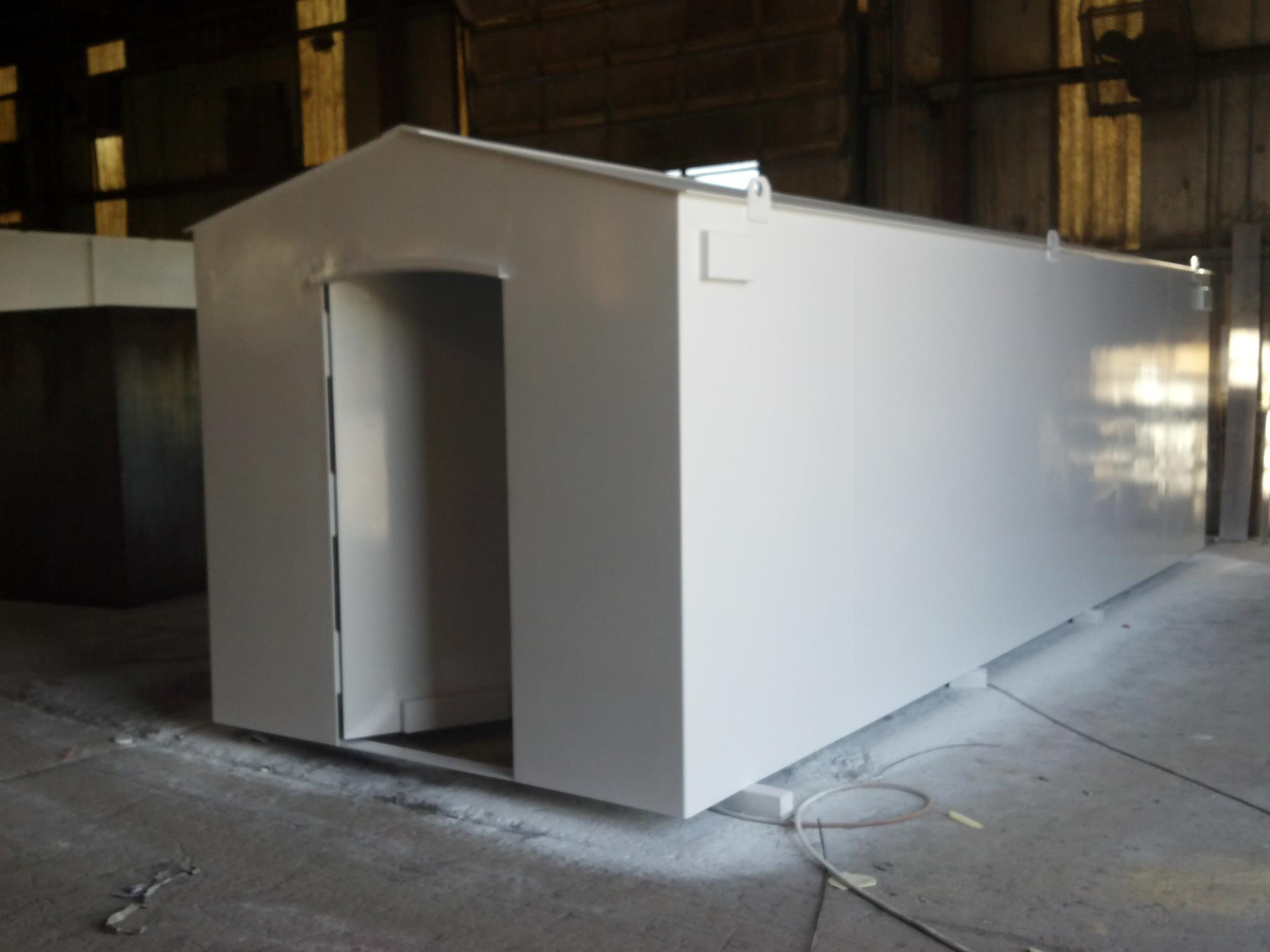 New 3x5 tornado safe room for compact small garages from for Garage safe room