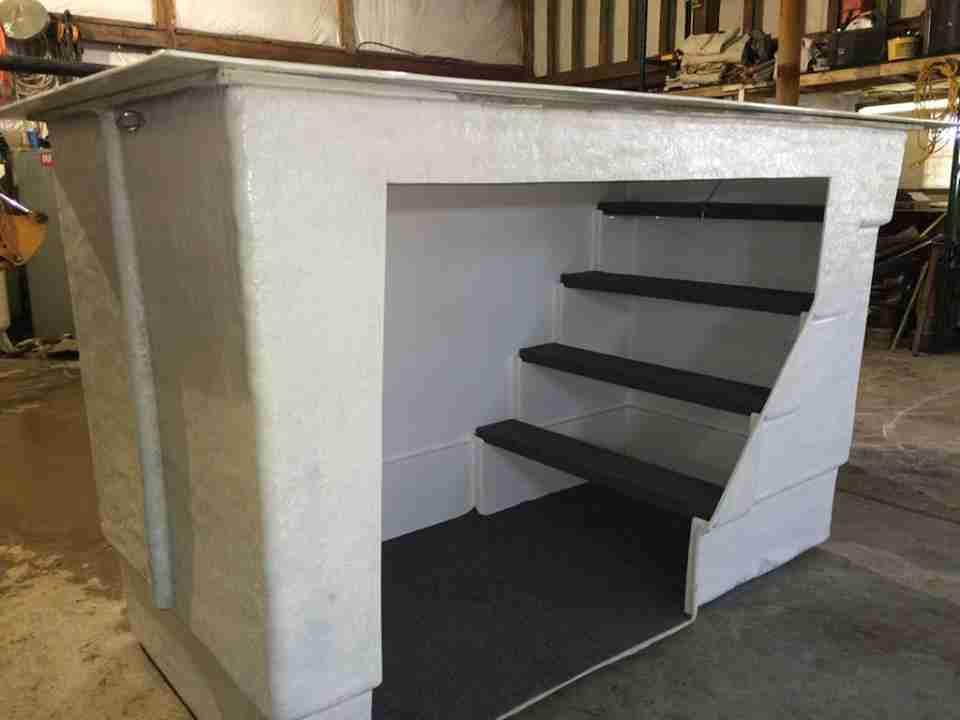 Garage Storm Shelters : Lifeguard underground garage storm shelter