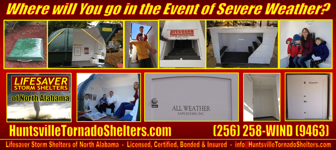 HuntsvilleTornadoShelters.com – Lifesaver Storm Shelters of North Alabama